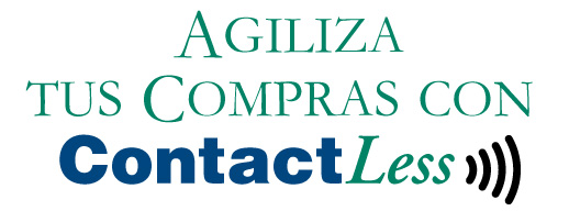 Agiliza tus compras con Contactless